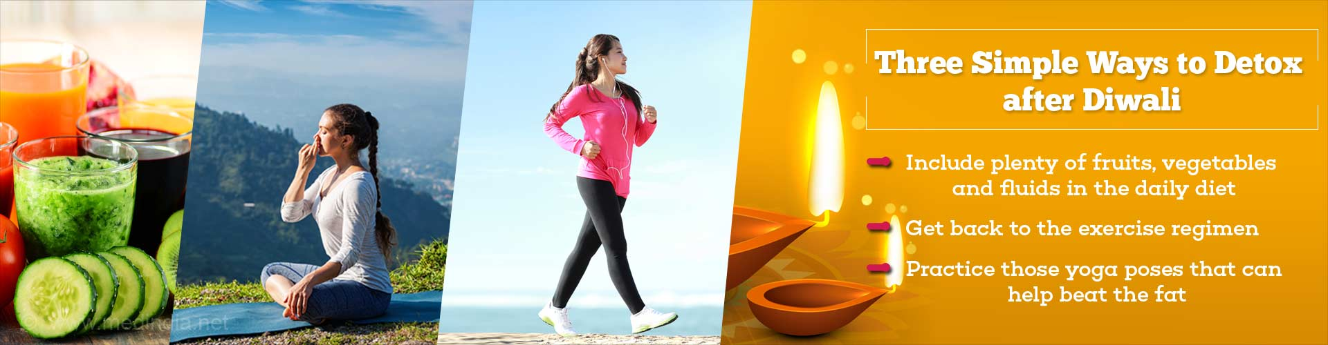 Three Simple Ways To Detox After Diwali