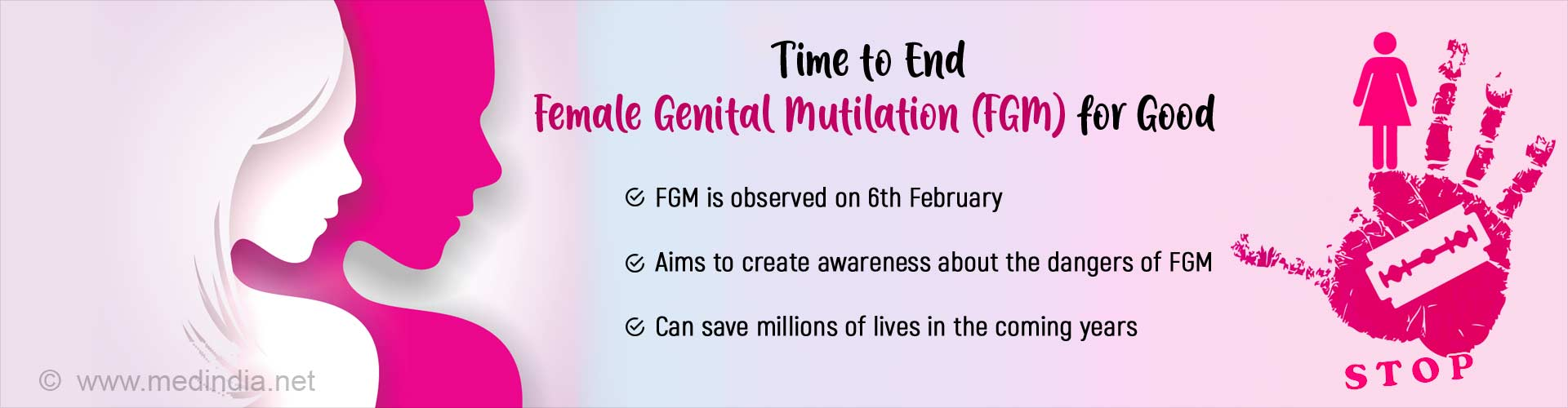 International Day of Zero Tolerance for Female Genital Mutilation - Time to End This Social Evil