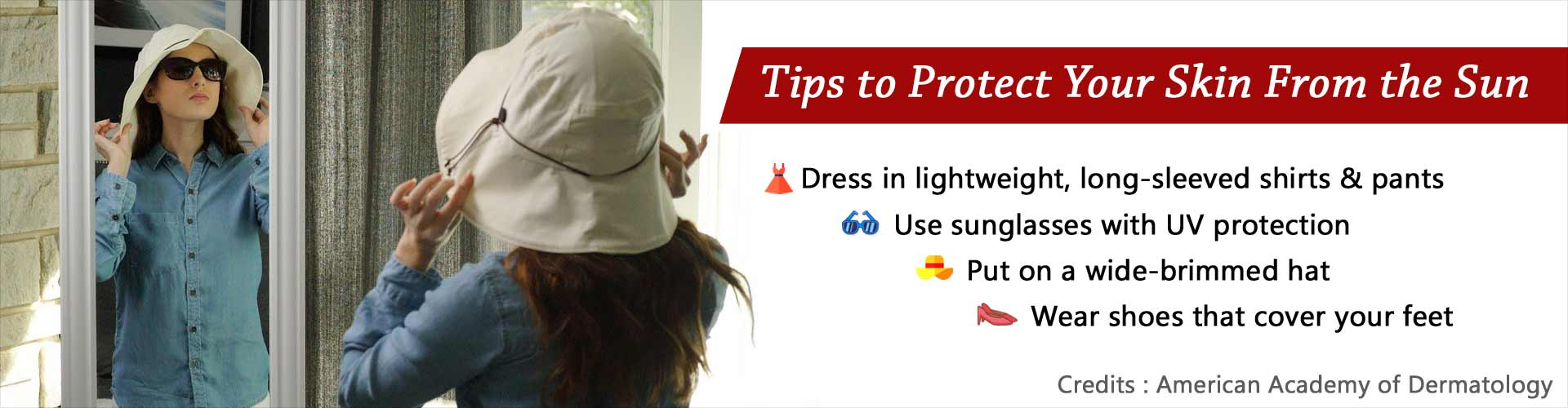 Four Ways to Protect Your Skin from the Sun