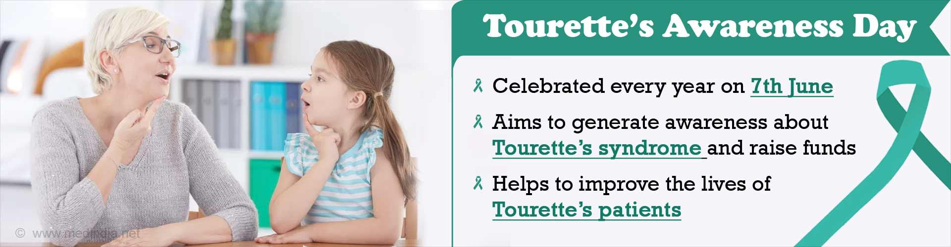 Tourette's Awareness Day: 'Let's Talk Tourette's'