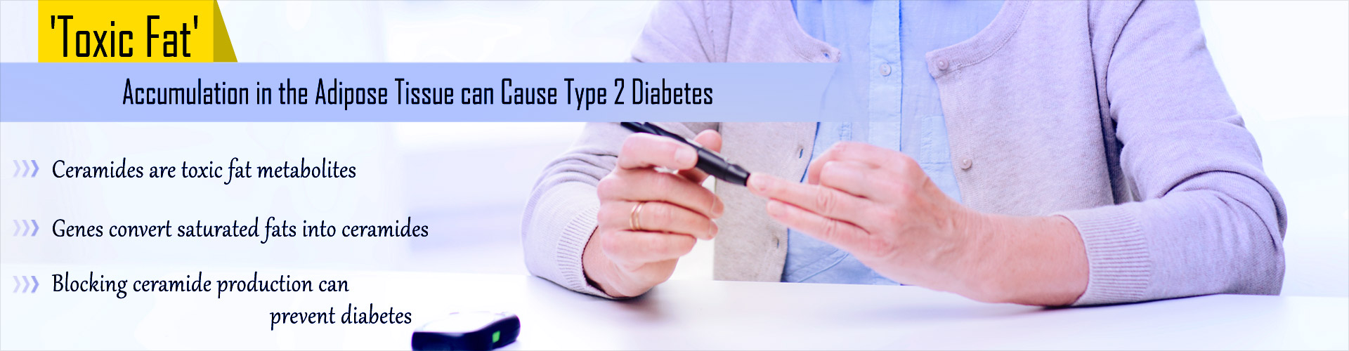 Type 2 Diabetes Risk Linked to Buildup of Toxic Fat Metabolites