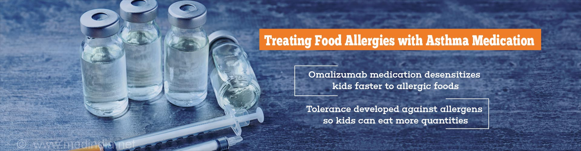 Asthma medication given along with oral immunotherapy can help children tolerate