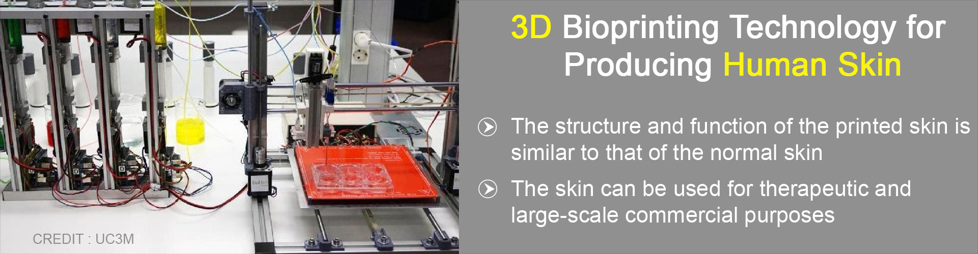 Human Skin Can Now be Printed