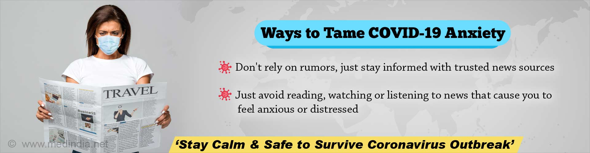 Simple 5 Ways to Fight Anxiety during COVID-19 Outbreak