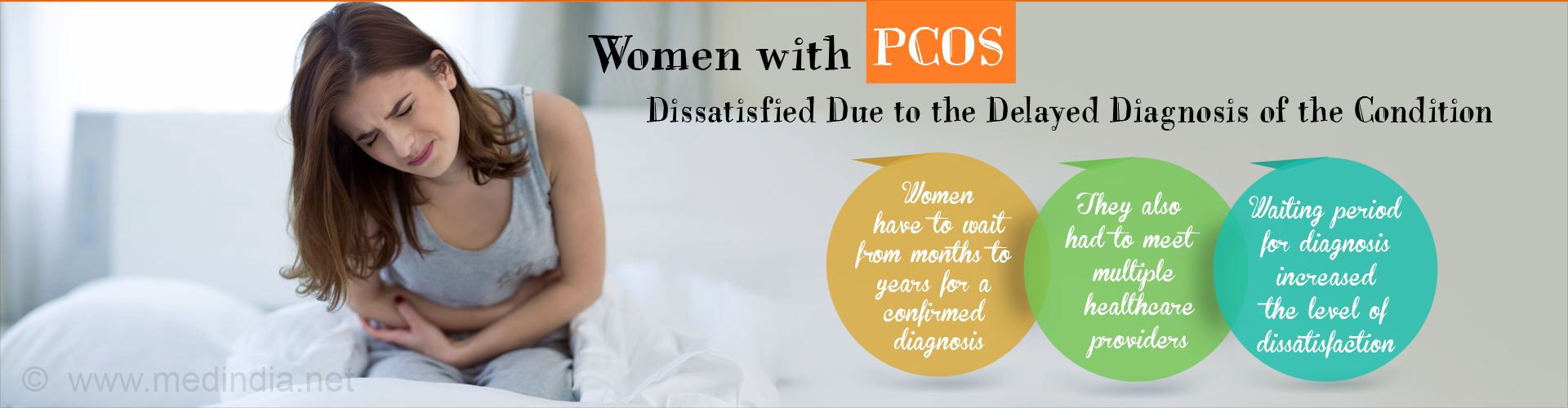 Women Unhappy With the Long Waiting Periods For Polycystic Ovarian Syndrome Diagnosis