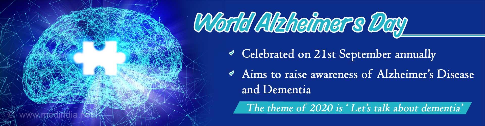 World Alzheimer's Day - Let's Talk About Dementia