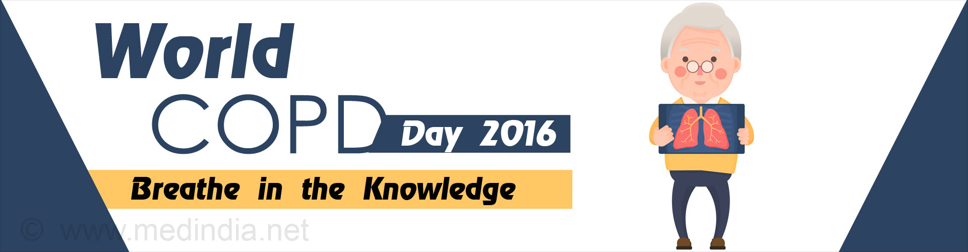 World COPD Day 2016: Breathe in the Knowledge