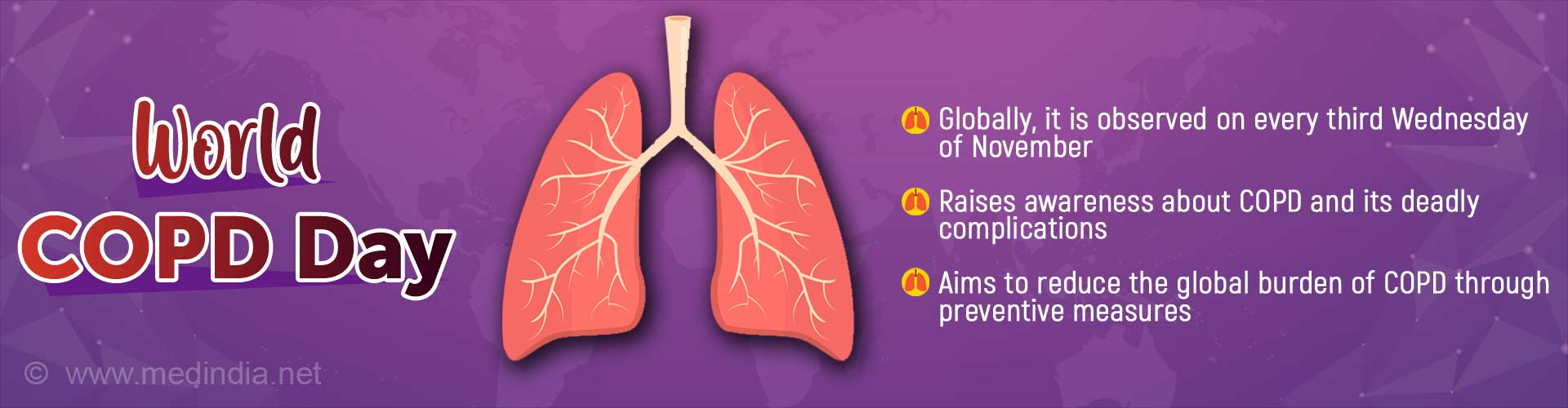 World COPD Day: 'All Together to End COPD'