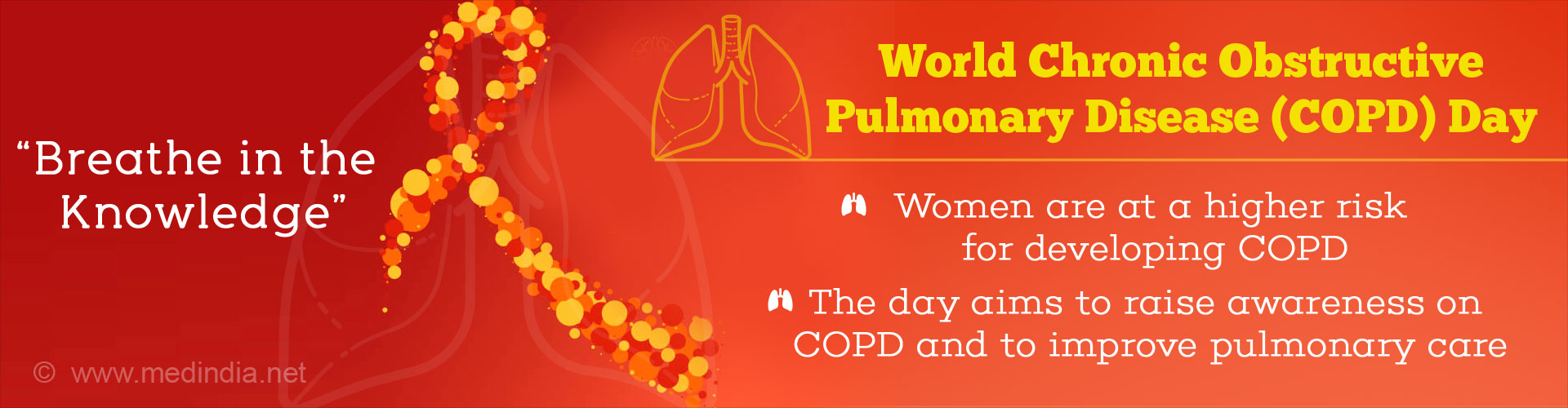 World COPD Day - 'Breathe in the Knowledge'