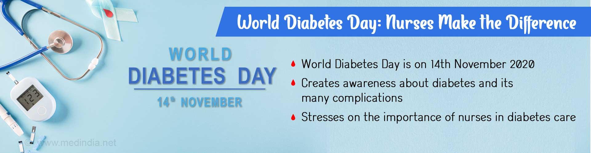 World Diabetes Day: Focus on Nurses and Diabetes