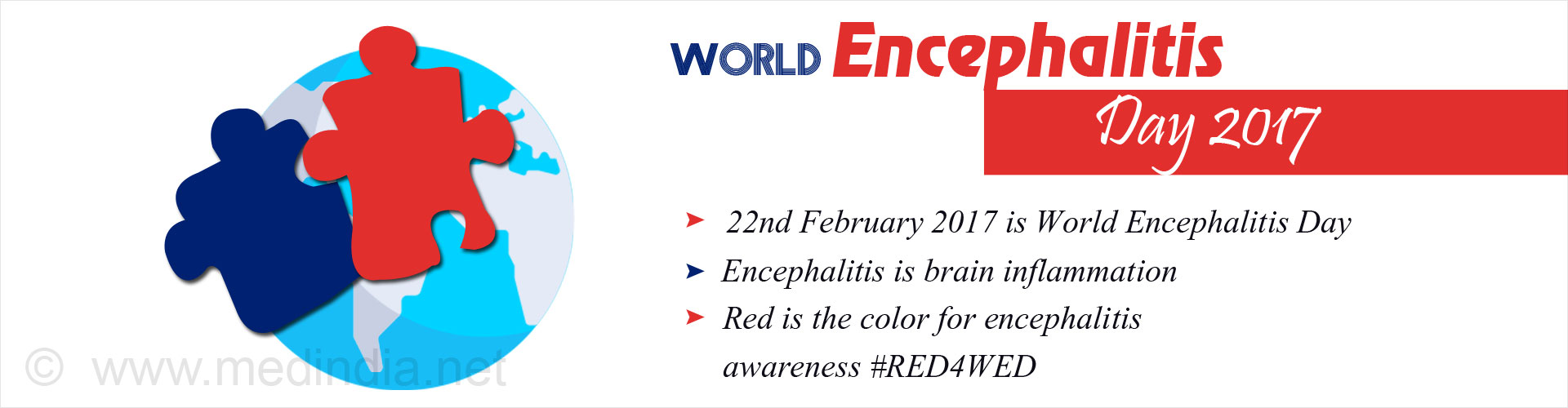 World Encephalitis Day 2017: #RED4WED