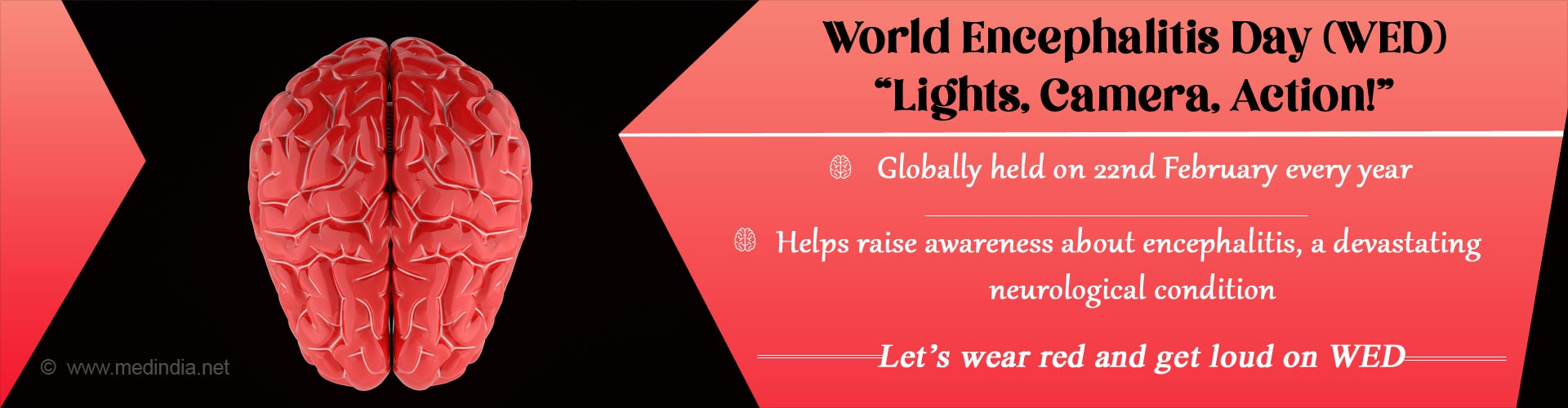 World Encephalitis Day (WED): Light Up and Wear Red for WED