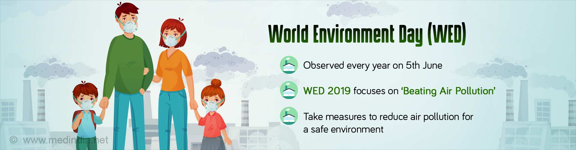 World Environment Day - Together, We Can Beat Air Pollution