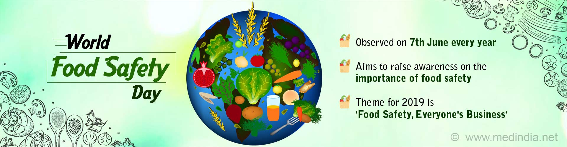 World Food Safety Day - ''Food Safety, Everyone''s Business''