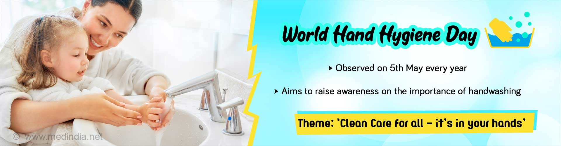 World Hand Hygiene Day: Clean Care for All - It''s in Your Hands