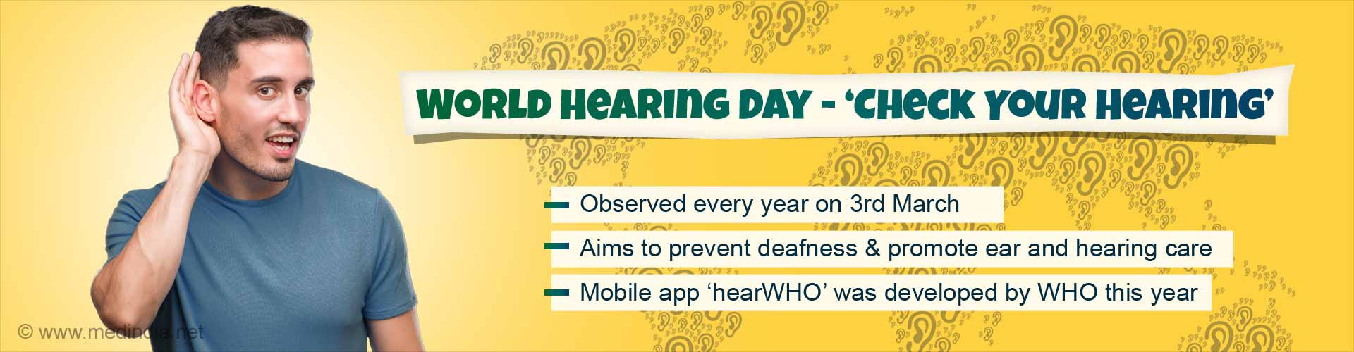 Check Your Hearing – World Hearing Day