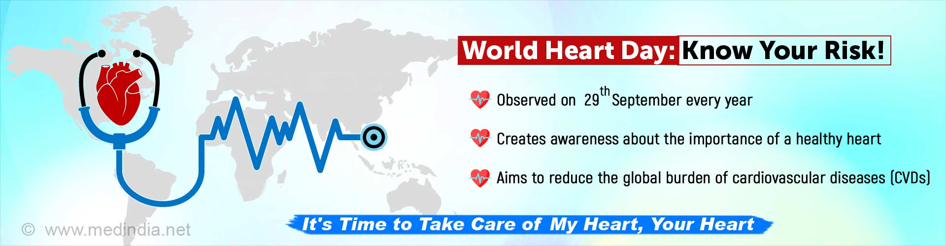 World Heart Day: Take Care of 'My Heart, Your Heart'
