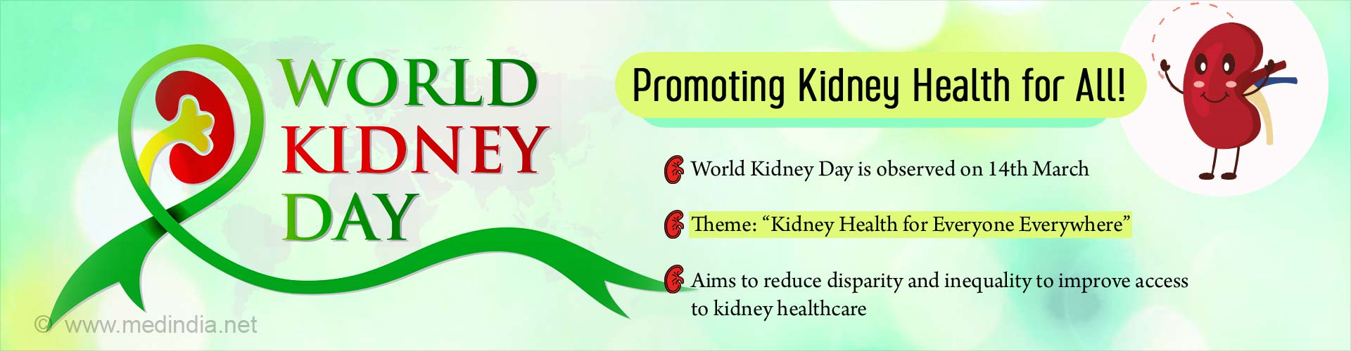 World Kidney Day - 'Kidney Health for Everyone Everywhere'