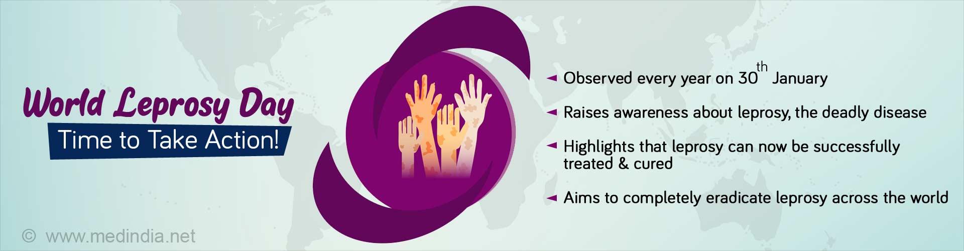 World Leprosy Day: Let's Stop Stigma & Discrimination