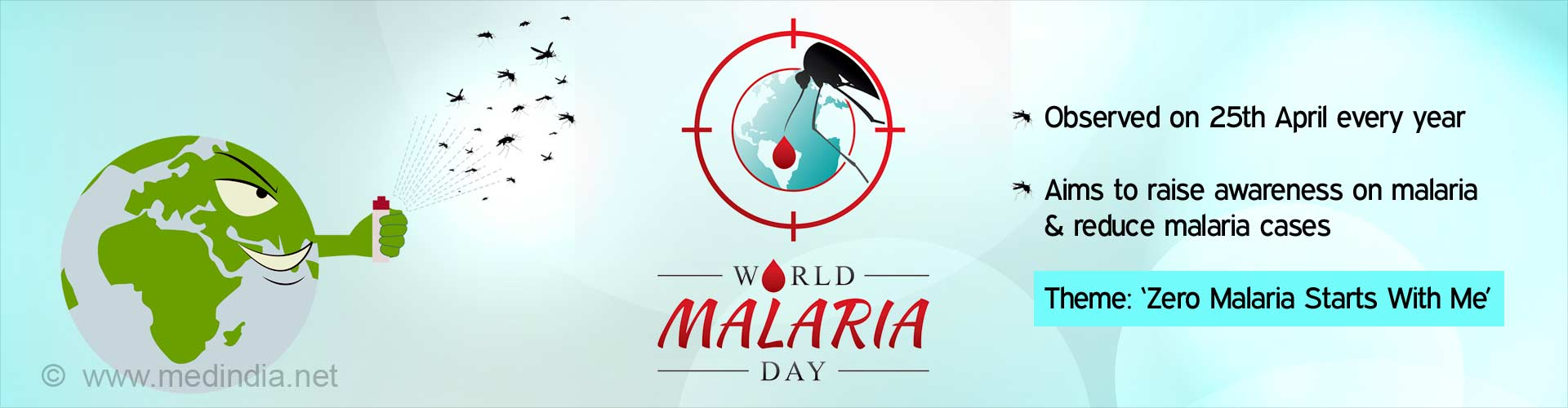 World Malaria Day: 'Zero Malaria Starts With Me''