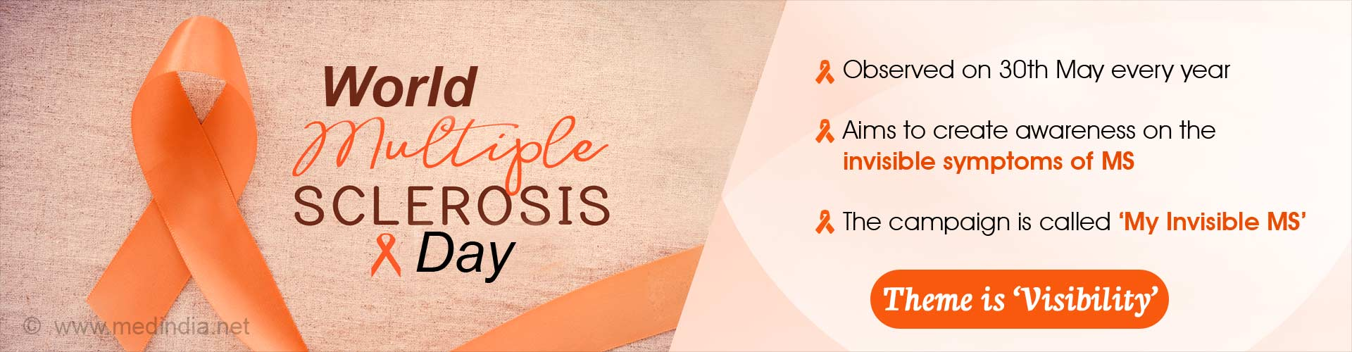 World Multiple Sclerosis Day: Increasing MS 'Visibility' for Everyone