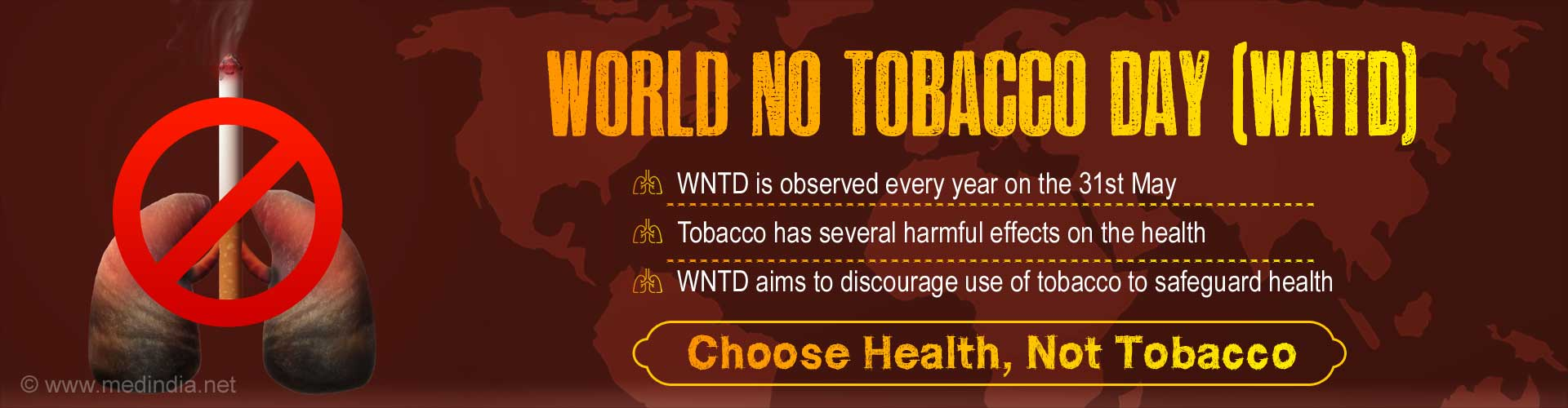 Don't Let Tobacco Take Your Breath Away – World No Tobacco Day