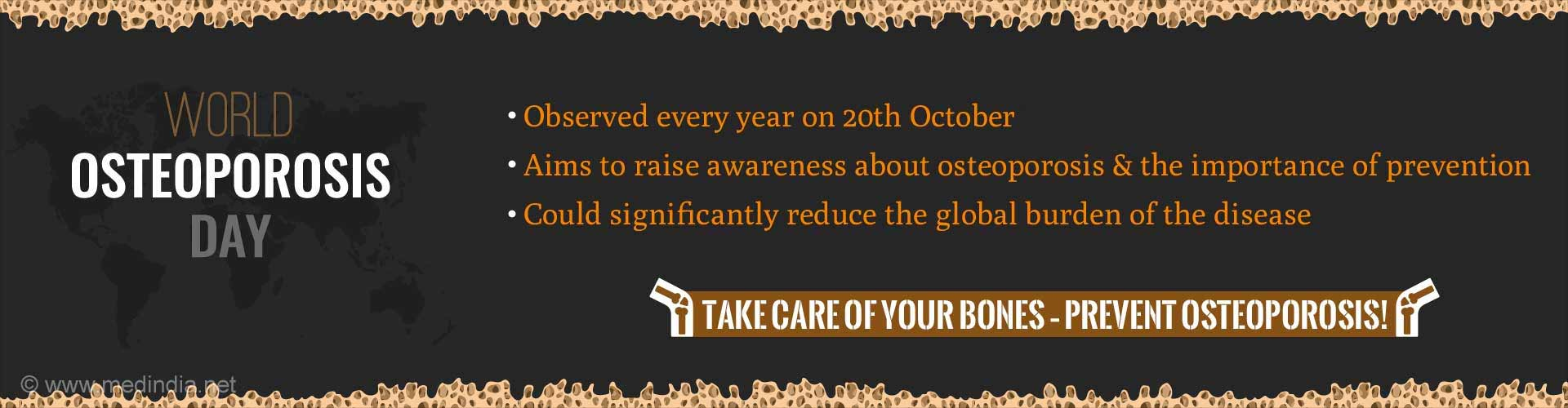 World Osteoporosis Day: Focus on 'Emotional Aspects'