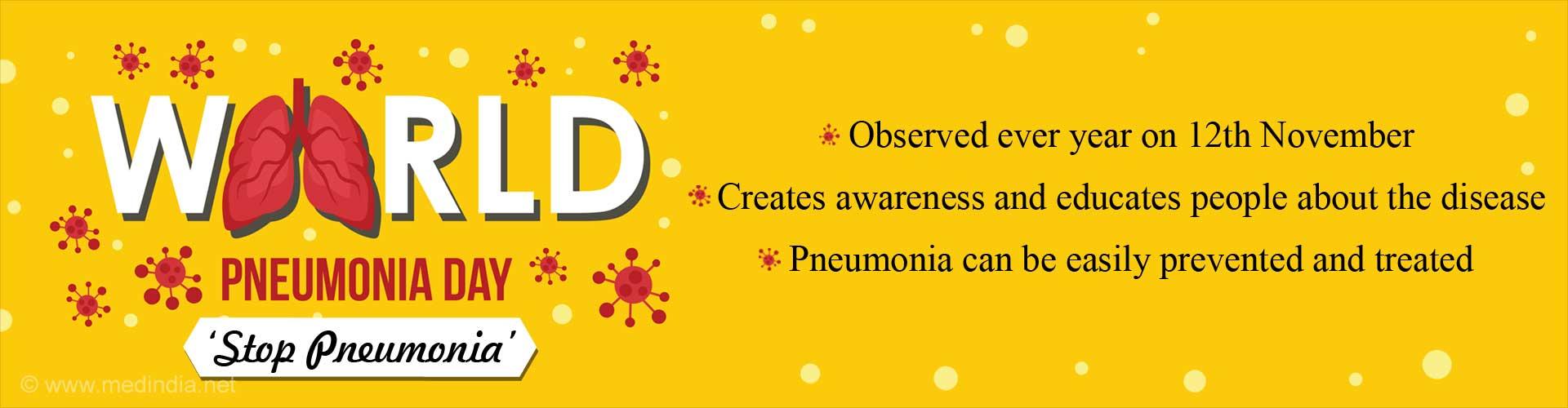 World Pneumonia Day - Halt Pneumonia''s March