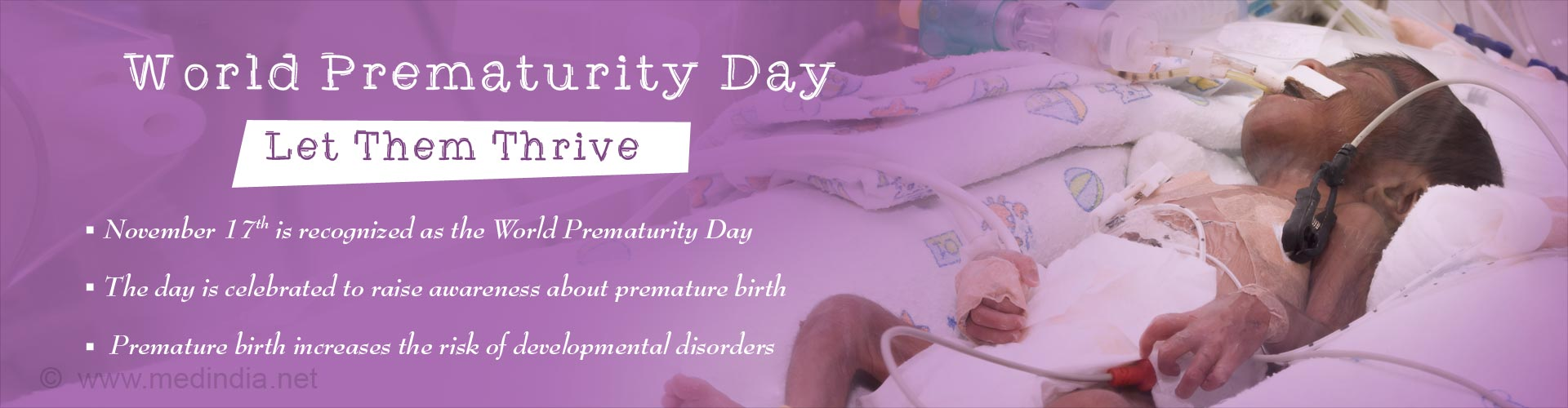 World Prematurity Day: Let Them Thrive