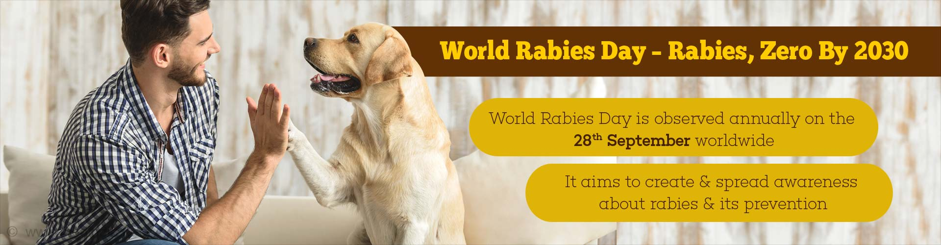 Rabies Can Be Prevented – World Rabies Day