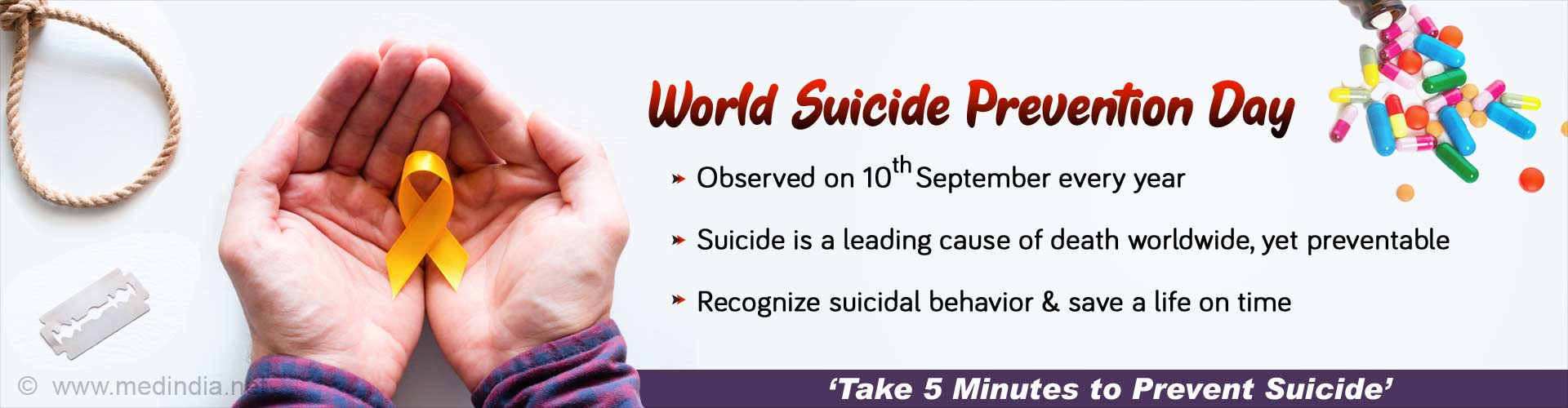'Working Together to Prevent Suicide' – World Suicide Prevention Day