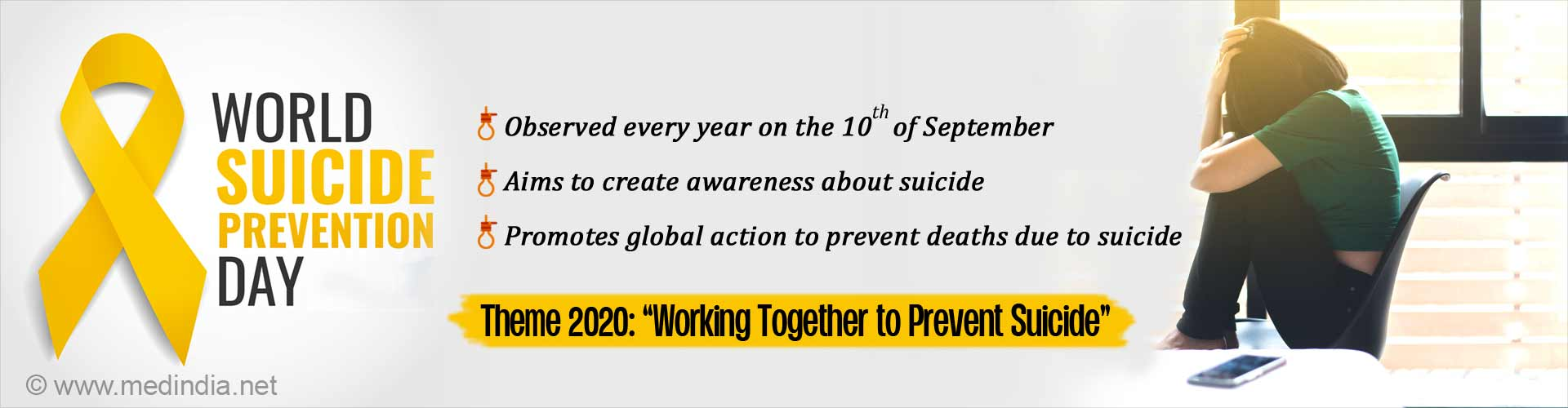 Working Together to Prevent Suicide- World Suicide Prevention Day