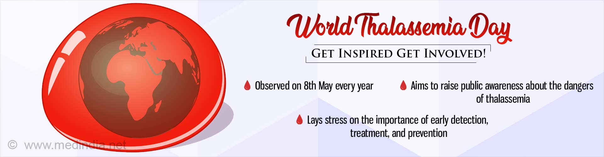 World Thalassemia Day: Give Blood Give Life