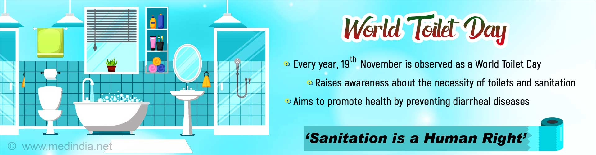 World Toilet Day: ''Leaving No One Behind''