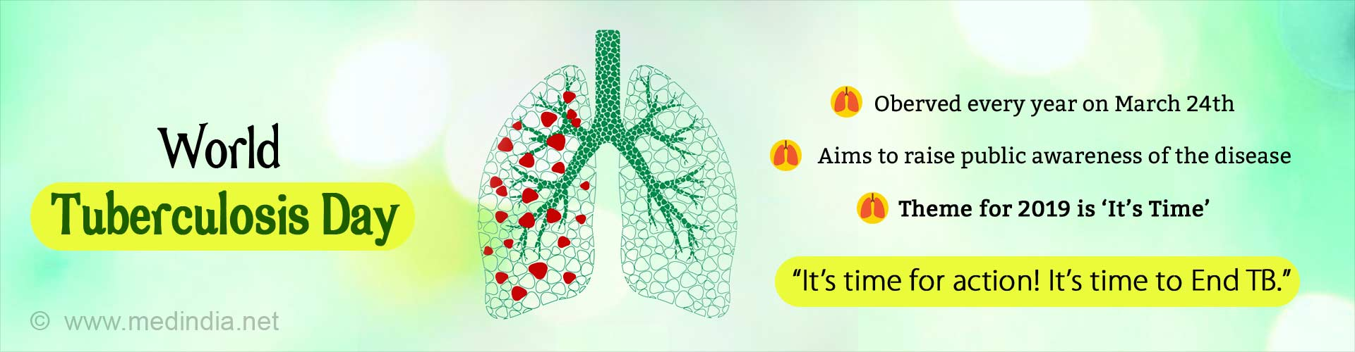 World Tuberculosis Day - It''s Time for Action