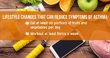 can changing a diet help asthma