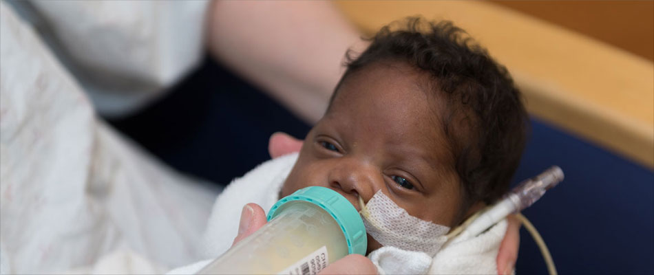 Breast Milk Promotes Early Brain Growth in Premature Babies