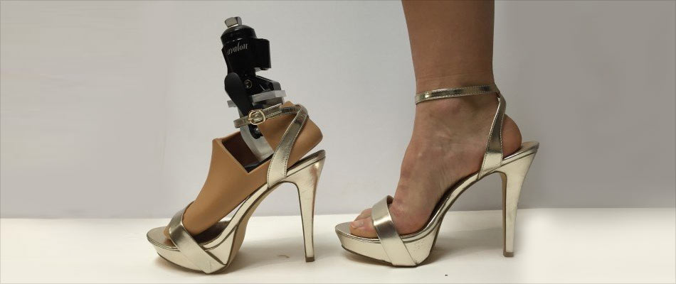 First Prosthetic Foot for High Heels