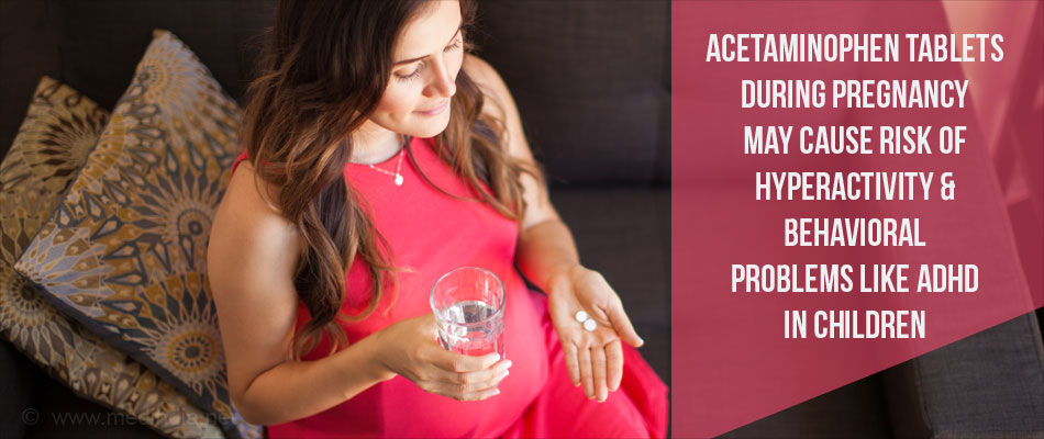 Acetaminophen Use During Pregnancy Increases the Risk of Childhood Behavioral Problems
