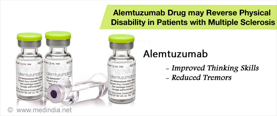 Multiple Sclerosis Patients may Benefit from the Drug Alemtuzumab
