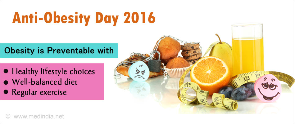 Anti-Obesity Day 2016: Obesity a Public Health Threat