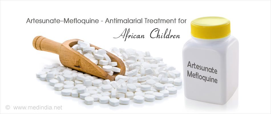 Artesunate�Mefloquine is a Good Alternate Malaria Treatment for African Children