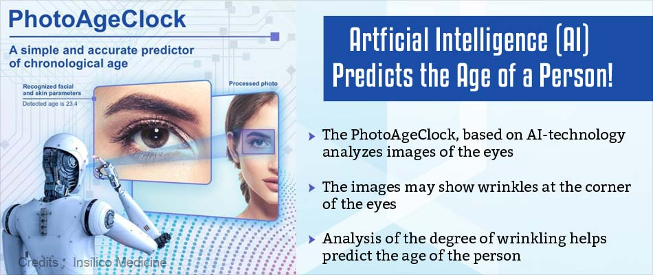 Artificial Intelligence Can Predict a Person's Age