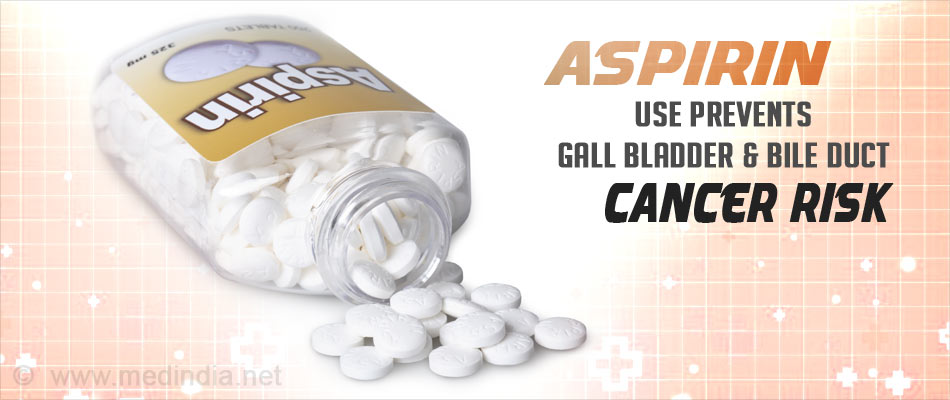 Aspirin Could Prevent Bile Duct Cancer