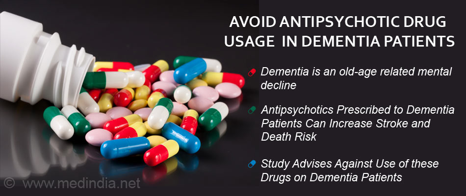 Medicine For Dementia >> Antipsychotic Drug Usage Is Best Avoided In Dementia Patients