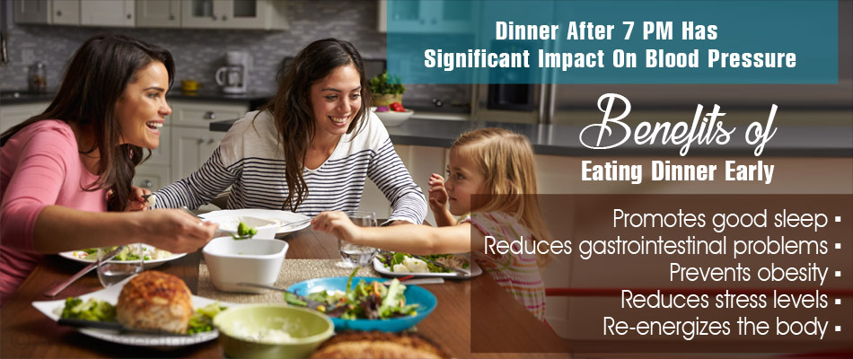 Late Night Dinners can Have Adverse Effects on Health and Increase Risk Of Heart Attack