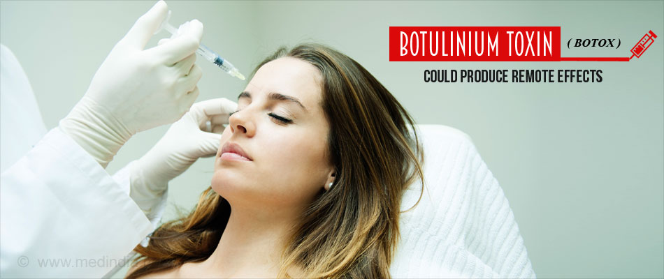 Botulinum Toxin (BOTOX) Could Affect More Than the Target Nerves