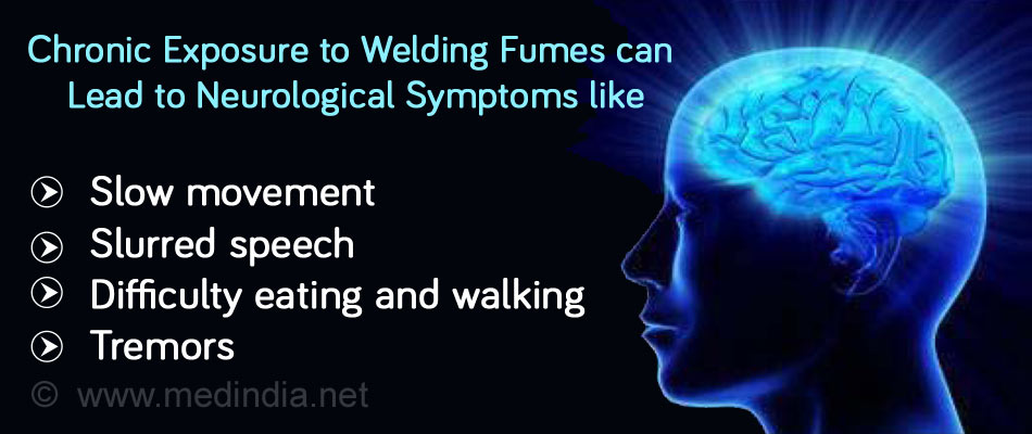 Exposure to Low Levels of Manganese-Containing Fumes Lead to Neurological Problems