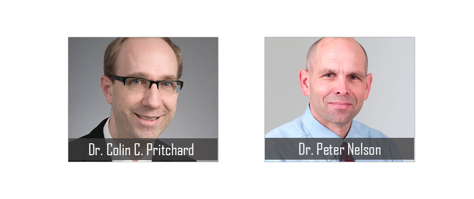 Dr. Colin C. Pritchard and Dr. Peter Nelson