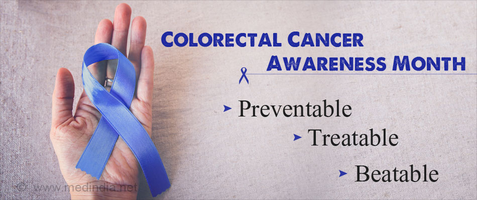 Colorectal Cancer Awareness Month March 2017